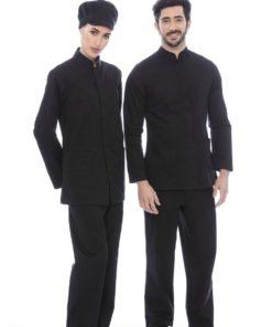 Calça preta com elástico
