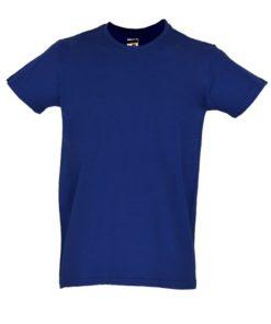 T-shirt azul Real frente