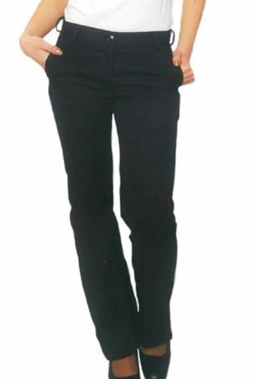 Calças de senhora em preto.