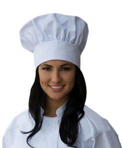 Chapeu de chefe de cozinha