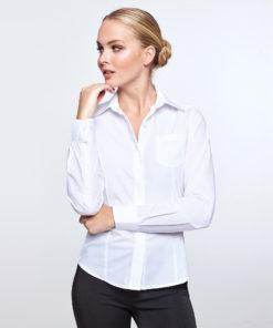 Camisa manga comprida Senhora Branca