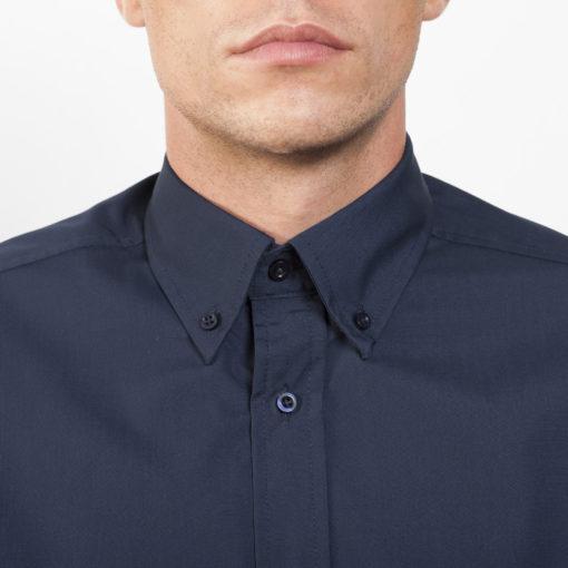 Camisa manga comprida Homem Colarinho