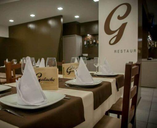 Restaurante Gulache guardanapos - Caminhos, toalhas e guardanapos.