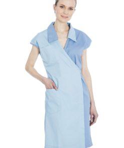 Ladies Blue Smock 2236