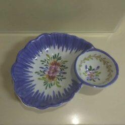 Azeitoneira em porcelana cores