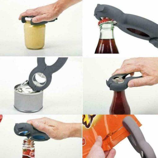Abre latas multi funções