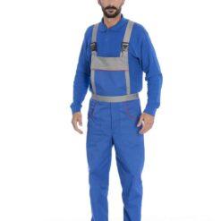 Jardineira azul 4332