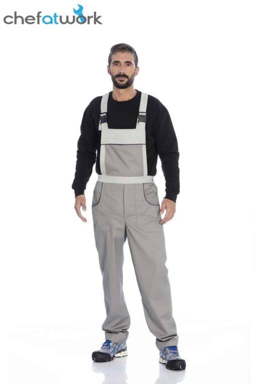 Jardineira cinza 4332