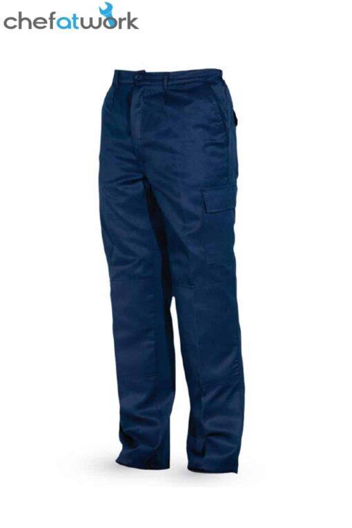Calças multibolsos r9100 azul marinho