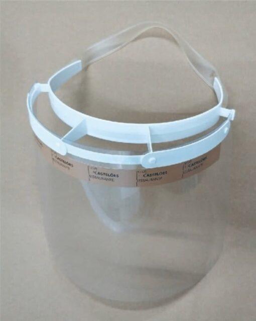 Viseira PVC personalizada