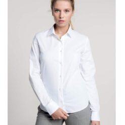 Camisa de senhora hoteleria branca
