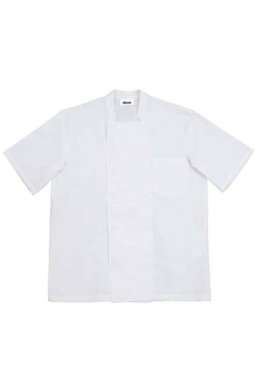 Camisa cozinheiro manga curta Branca