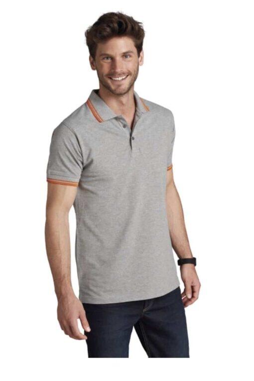 Grey Polo Man short Sleeve