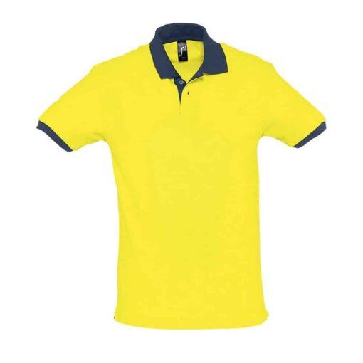 Amarelo - Azul Marinho