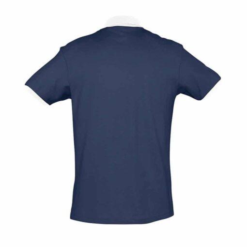 Azul marinho - branco - Tras