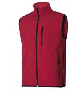Colete soft shell vermelho 205905