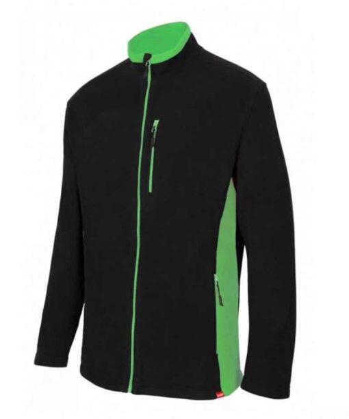 Casaco Polar preto verde 201504