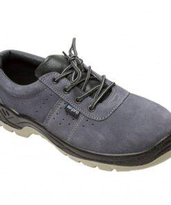 Sapato de couro construção civil