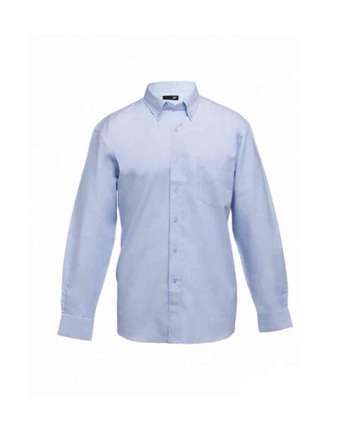 Camisa de homem tokyo azul frente