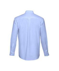 Camisa de homem azul tokyo traseira