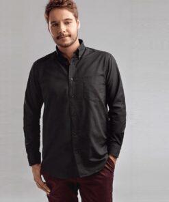 Camisa de homem tokyo preta modelo